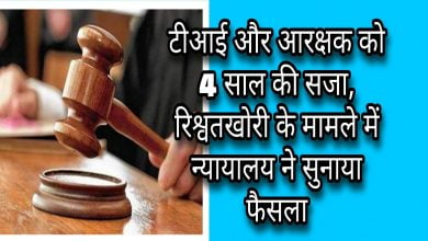 Photo of ujjain-टीआई और आरक्षक को 4 साल की सजा, न्यायालय ने भेजा जेल