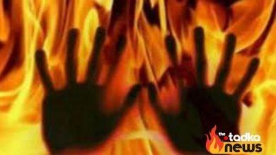 Photo of ससुराल में युवक पर पेट्रोल डालकर लगाई आग