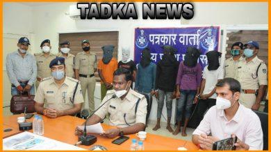 Photo of पेट्रोल पंप मैनेजर को लूटने वाले 6 आरोपी गिरफ्तार । 6 accused arrested for robbing petrol pump manager