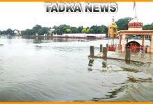 Photo of इंदौर में हुई बारिश से शिप्रा नदी उफान पर गंभीर डेम में आवक जारी